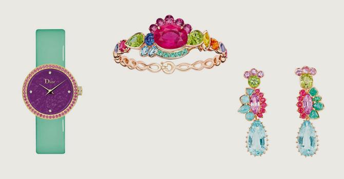 0bd93517d مجوهرات وساعات ديور 2016 تروي قصة الطفولة والمرح   عالم حواء لايف