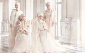 فساتين زفاف المحجبات