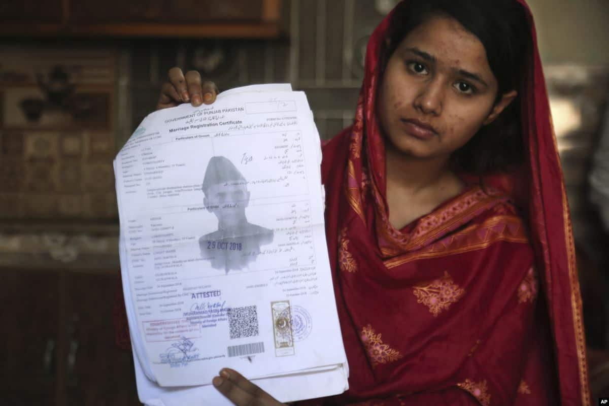 ضخايا من الباكستانيات تعرضوا للتخيل تحت مسمى الزواج