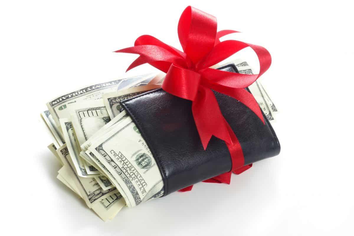 نقود هدية