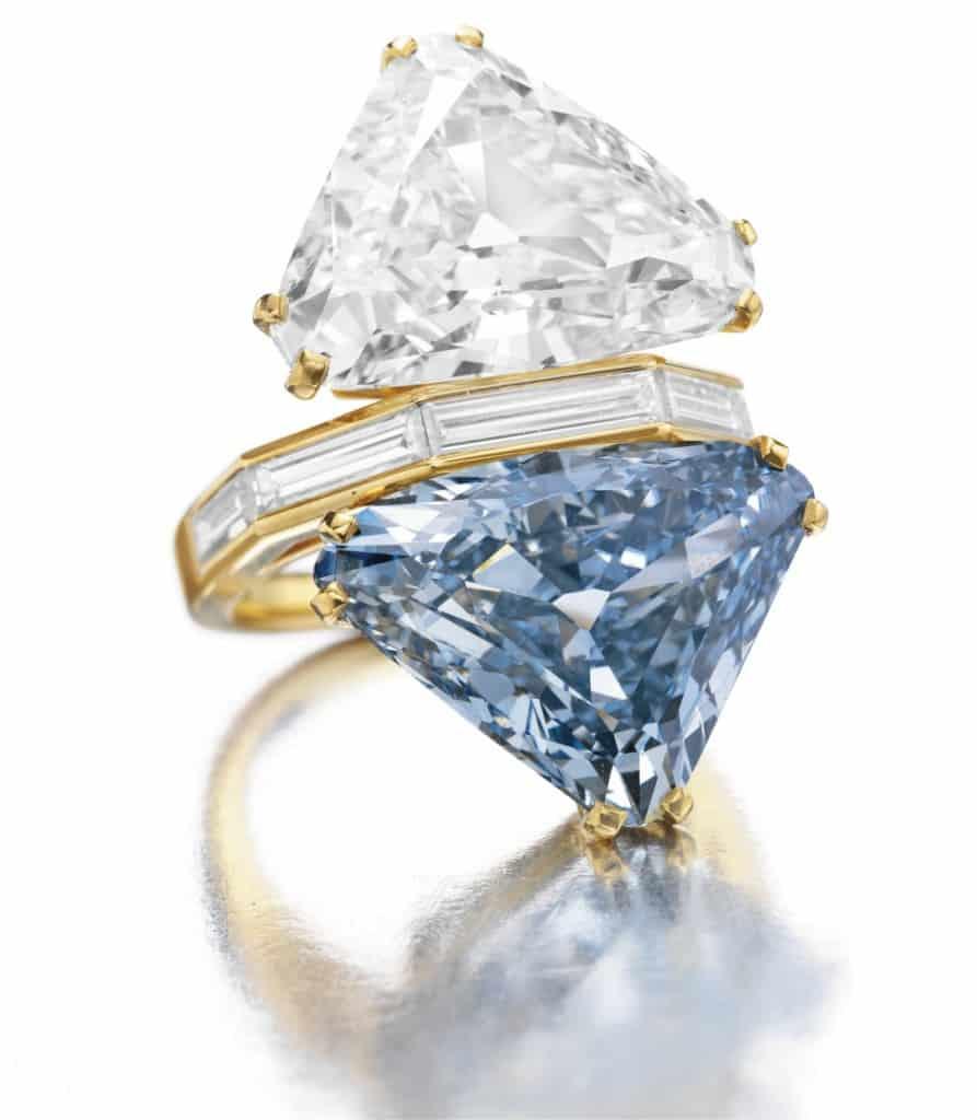 أقمن المجوهرات خاتم الماس ذو الوجهين