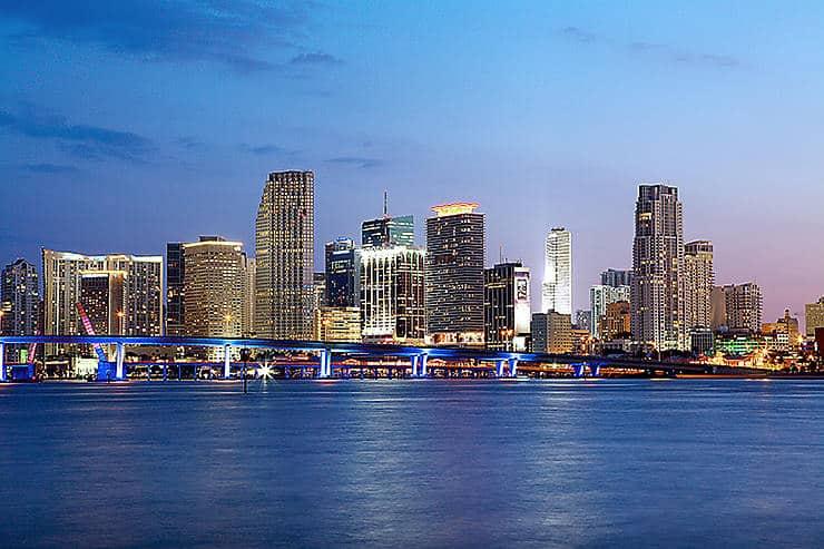 أماكن يزورها المشاهير للسياحة ميامي