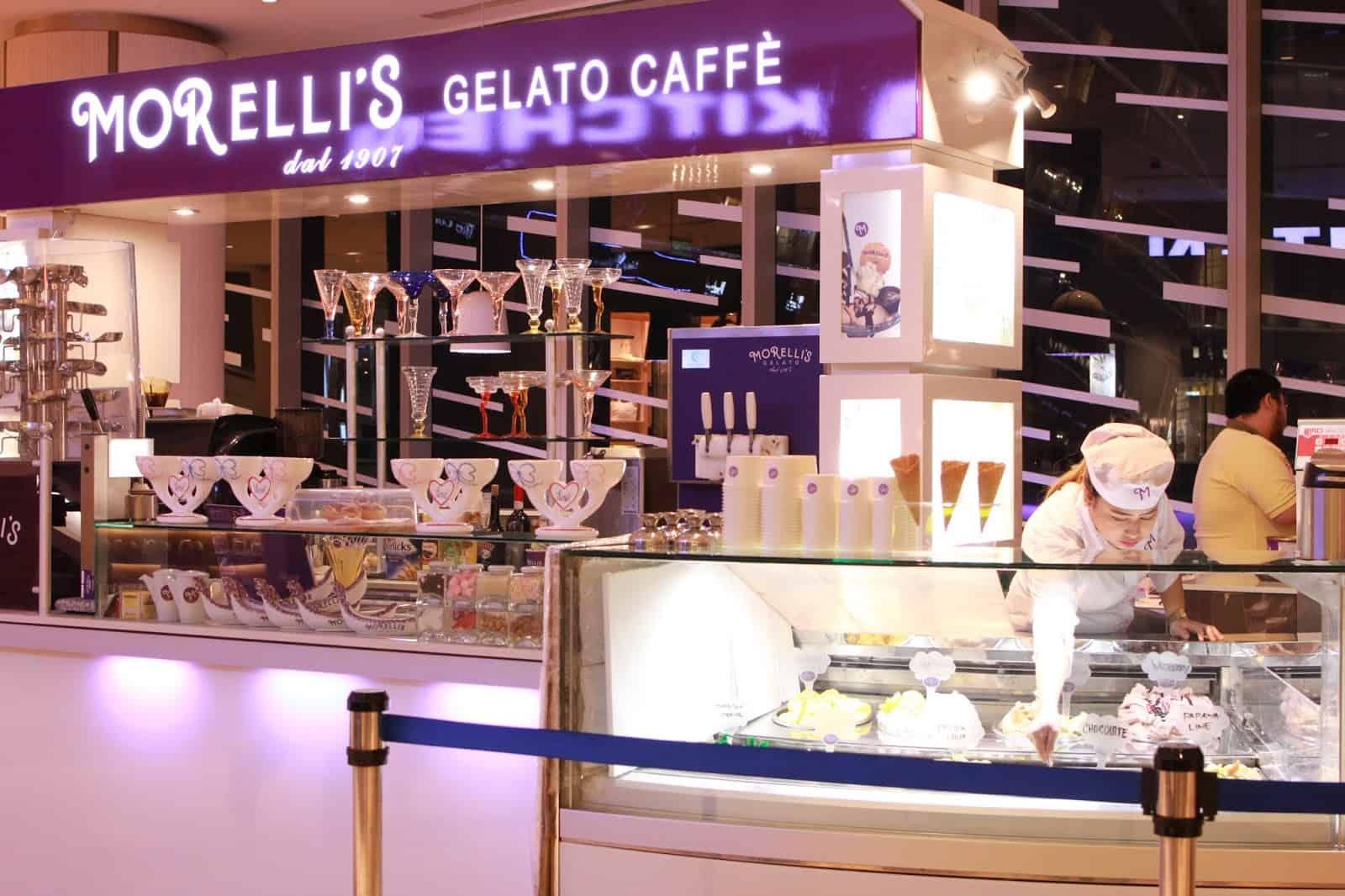 أفضل متاجر لندن للمثلجات morelli