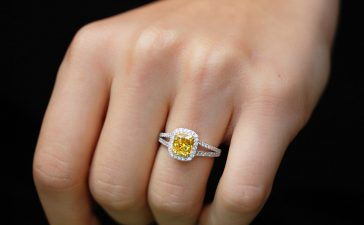 الماس الأصفر