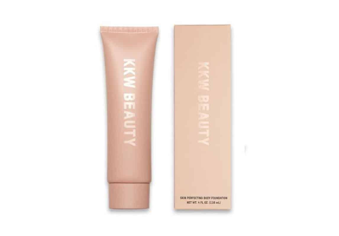 مستحضر KKW Beauty Skin Perfecting Body Foundation in Deep Dark