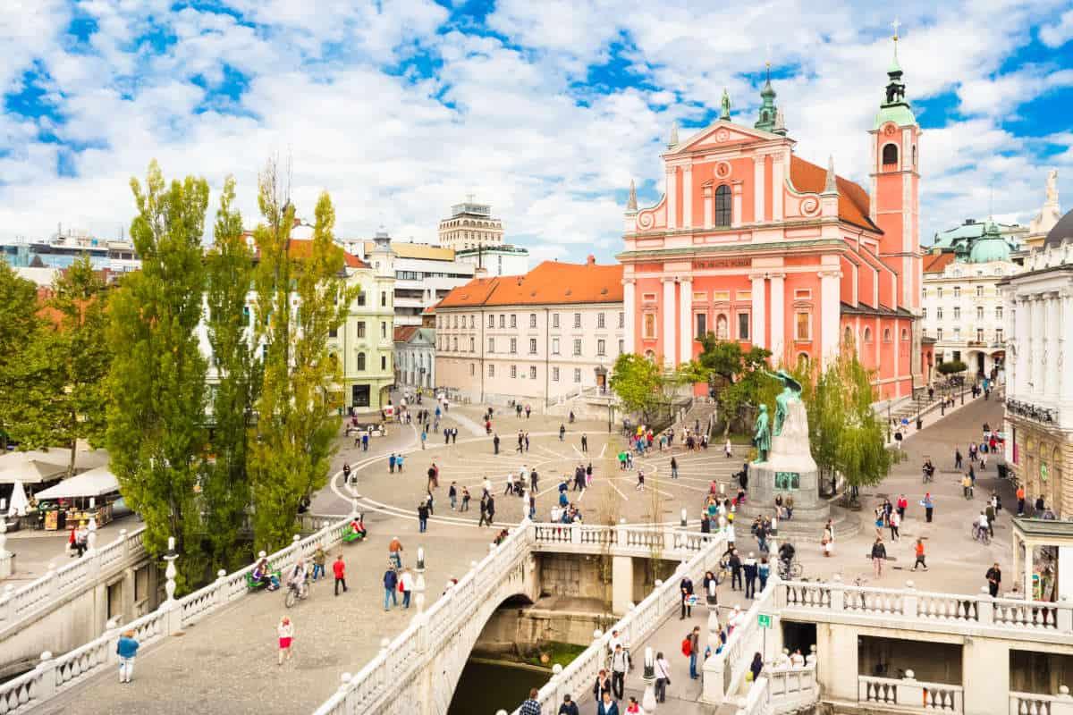 أجمل مدن سلوفينيا العاصمة