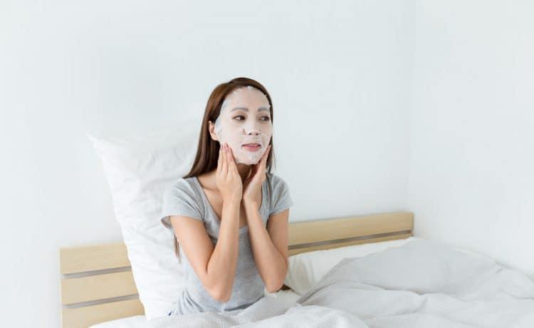 بياض بشرة المرأة الكورية