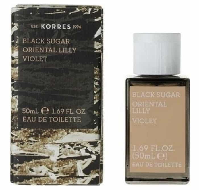 عطر KORRES Black Sugar Lily Violet