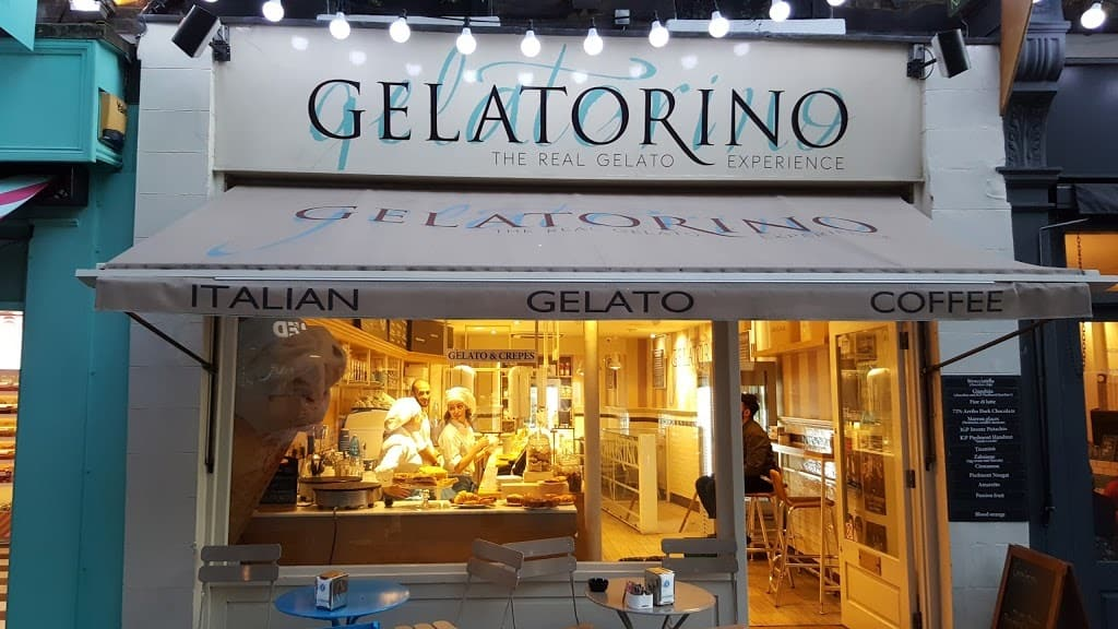 أفضل متاجر لندن للمثلجات GELATORINO