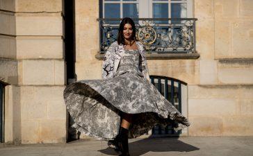 فساتين للمحجبات مناسبة للسهرات تظهر بأسبوع باريس للهوت كوتور