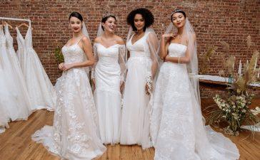 موضة فساتين الزفاف