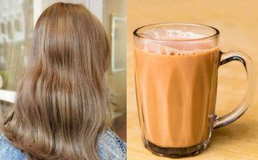 Milk Tea صيحة جديدة في عالم ألوان الشعر