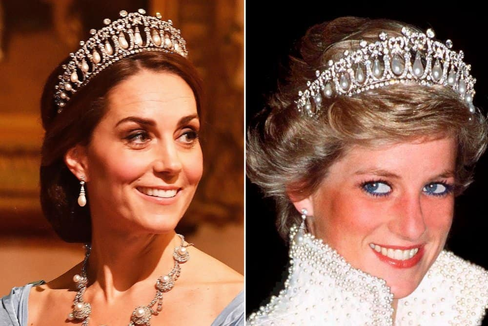 كيت ميدلتون ترتدي تاج الأميرة ديانا