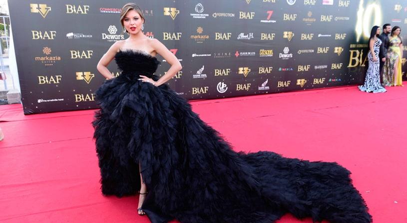 أجمل إطلالات الفساتين في حفل Biaf