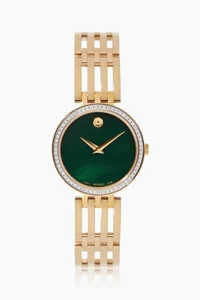 ساعة يدوية ملونة من علامة دار موفادو Movado