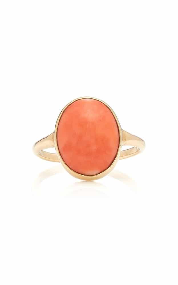خاتم المرجان من علامة فيلا Vela