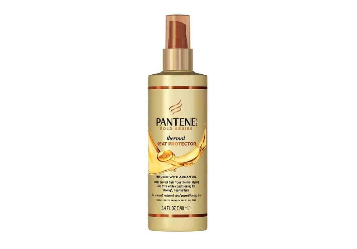 منتج Gold Series Thermal Heat Protector Infused with Argan Oil من PANTENE Pro-V