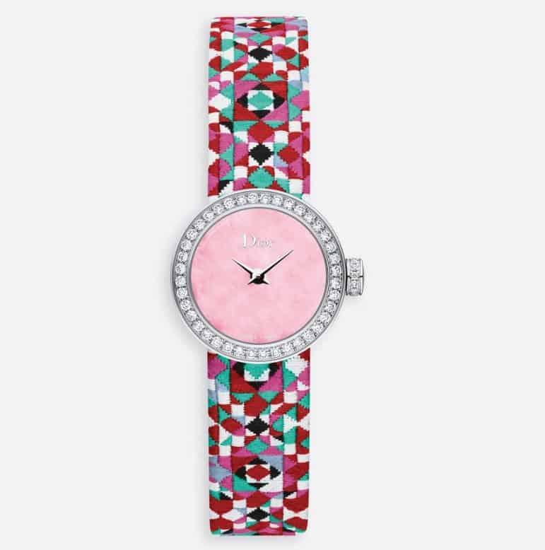 ساعة La Mini D De Dior Mosaique من علامة Dior