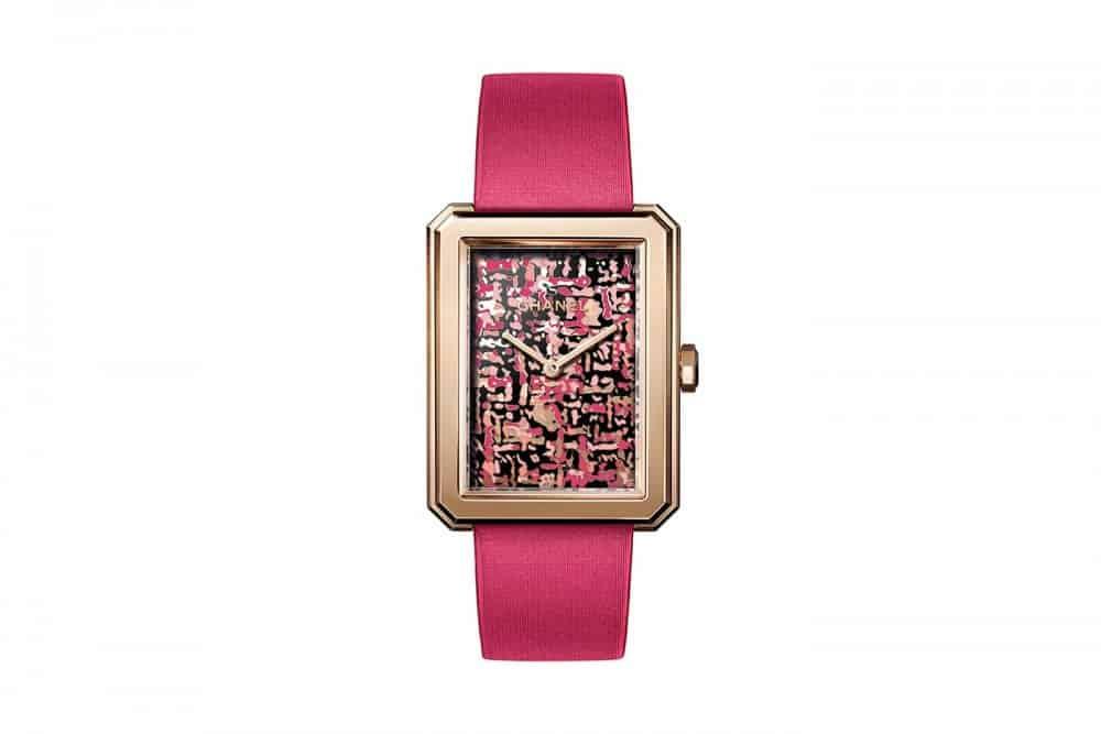 ساعة Boyfriend Tweed من علامة Chanel