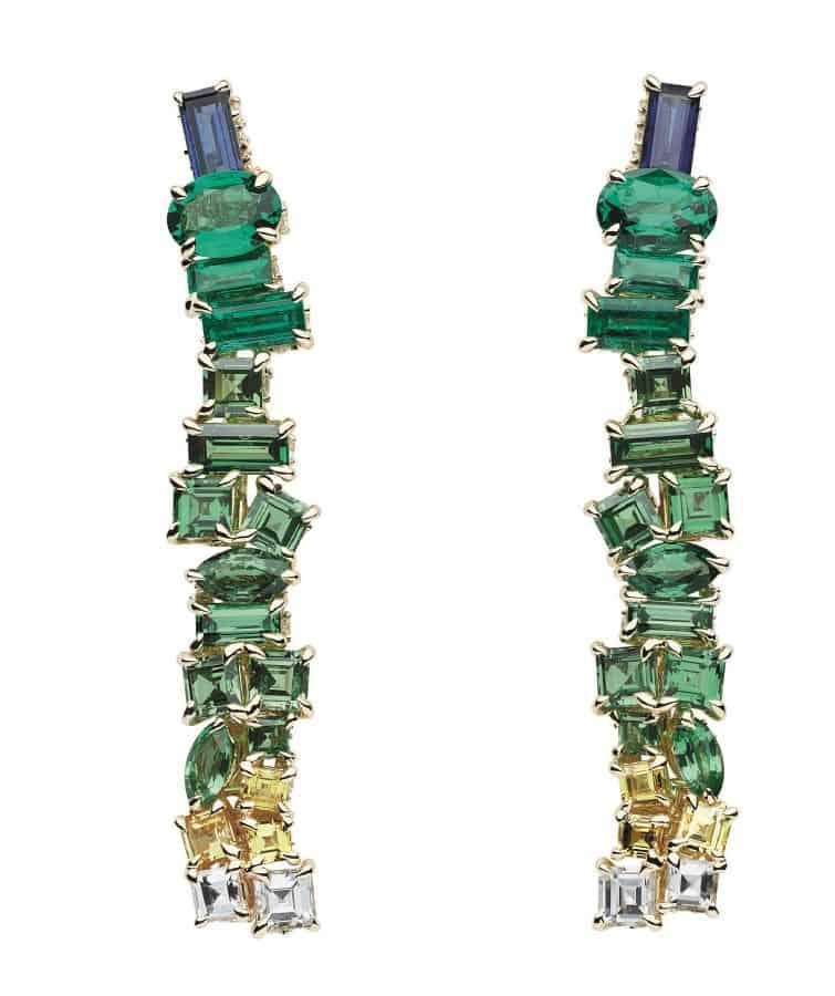أقراط Vert Menthe من ماركة Dior