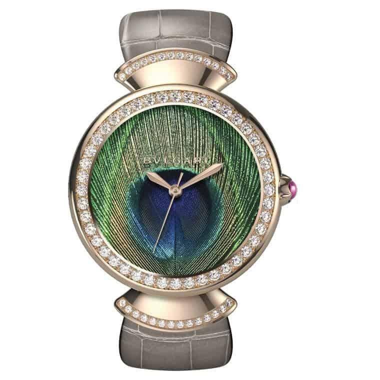 ساعة Divas' Dream Peacock من ماركة بولغاري Bulgari