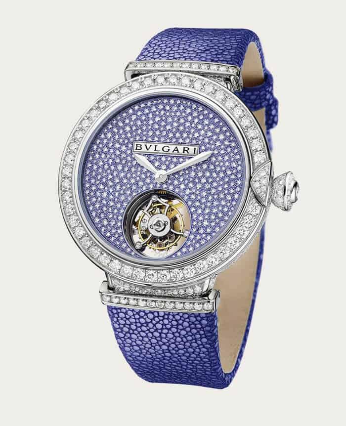 ساعة اليد Lucea Moon Phases من ماركة بولغاري Bulgari