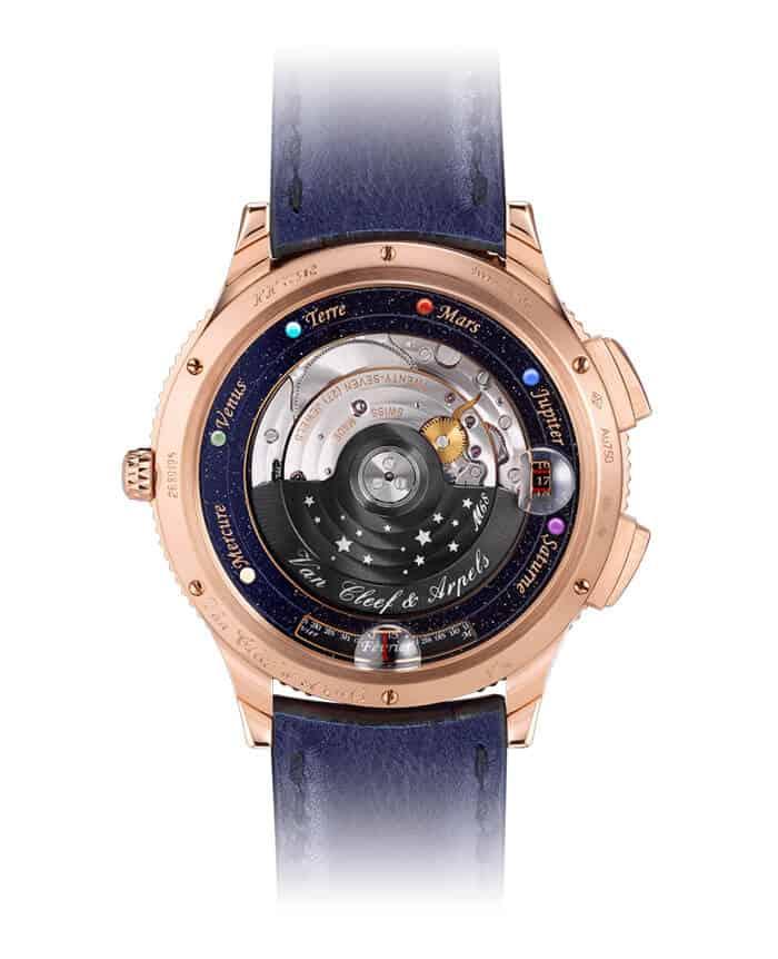 ساعة اليد Midnight Planétarium من علامة فان كليف أند أربلز Van Cleef & Arpels
