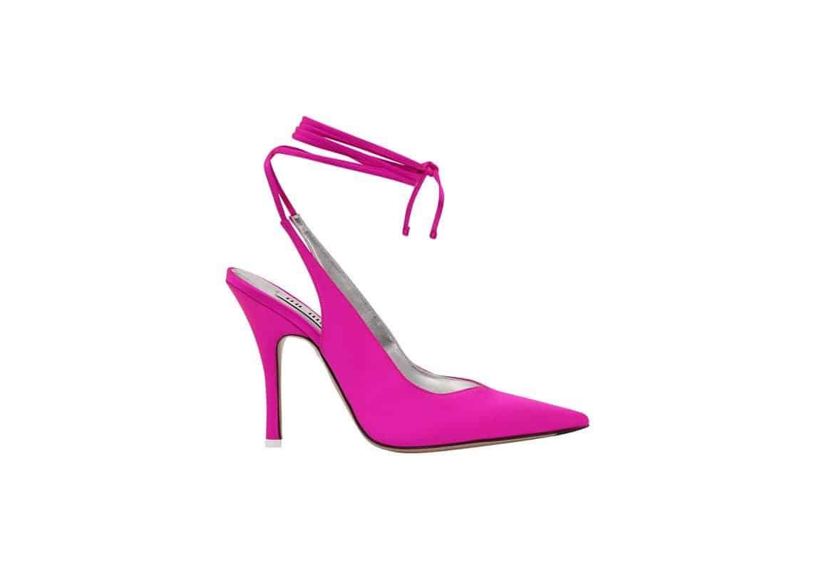 حذاء Venus من ماركة The Attico، للاتي يفضلن الأحذية الستيليتو مع أسلوب عصري