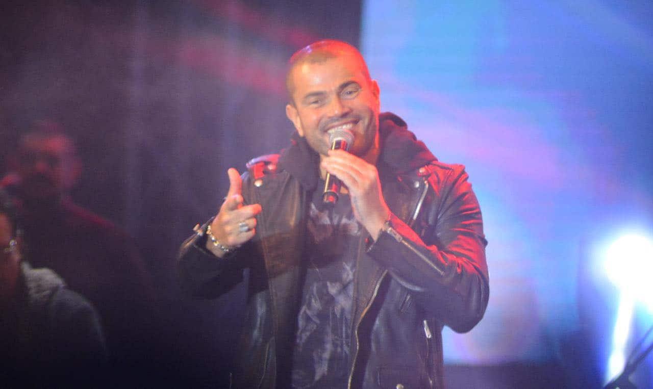 عمرو دياب يتصالح مع شركة روتانا