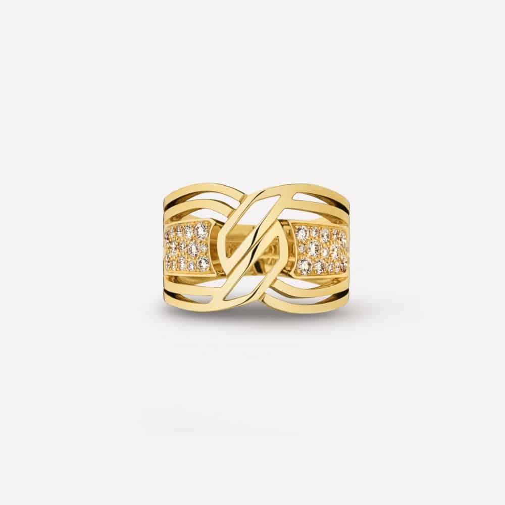 خاتم My Golden Link من علامة شانيل Chanel