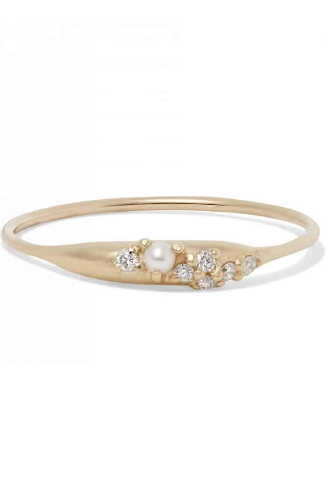 خاتم ذهبي من علامة سارا وسباستيان Sarah & Sebastian