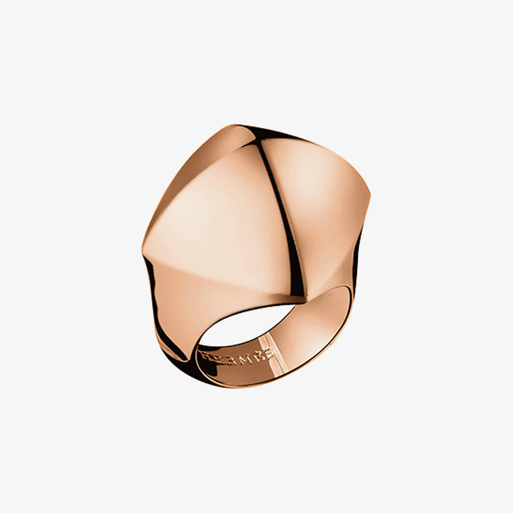 خاتم Collier De Chien Rock Rose Gold من علامة هيرمس Hermes
