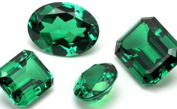 تصاميم مجوهرات خضراء