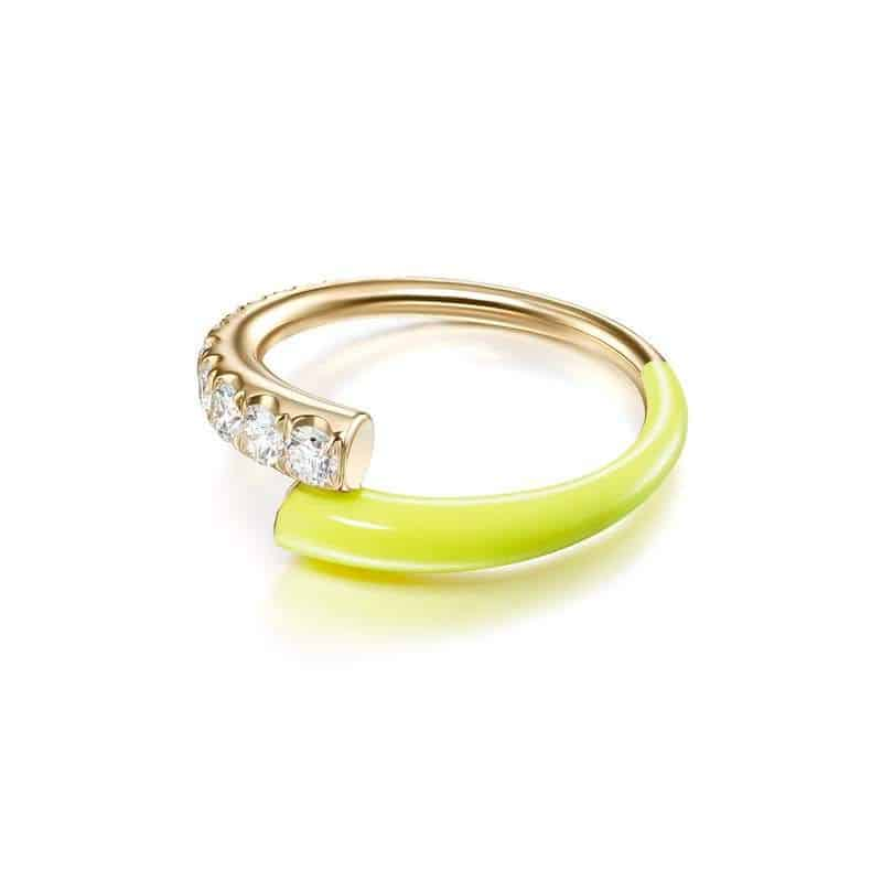 خاتم Lola من علامة ميليسا كاي Melissa Kaye
