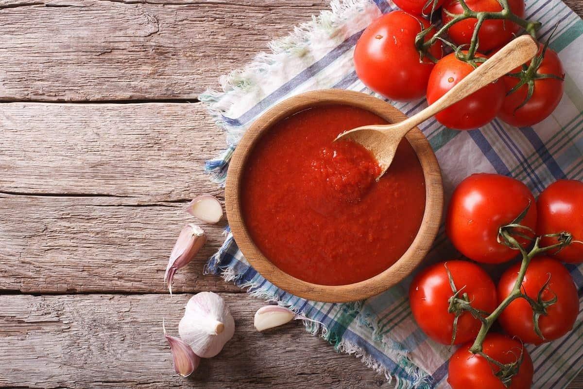 الطماطم المطبوخة