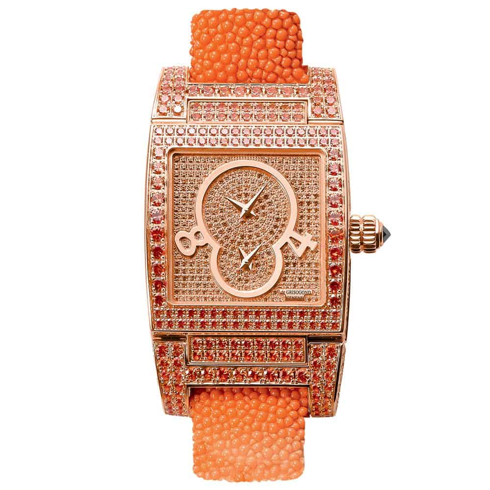 ساعة يد من ماركة دي غريسوغونو De Grisogono