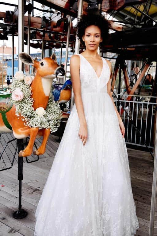 فستان زفاف من Lela Rose
