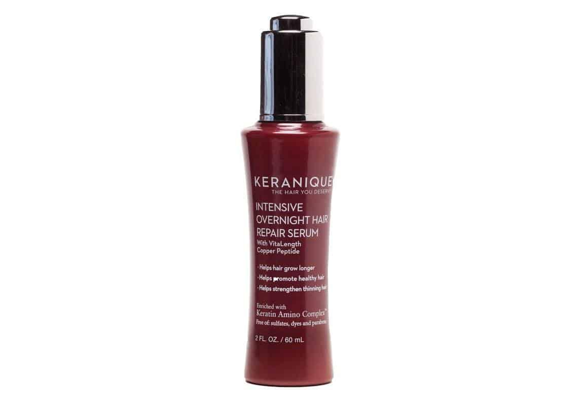 منتج سيروم Intensive Overnight Hair Repair Serum من ماركة KERANAIQUE
