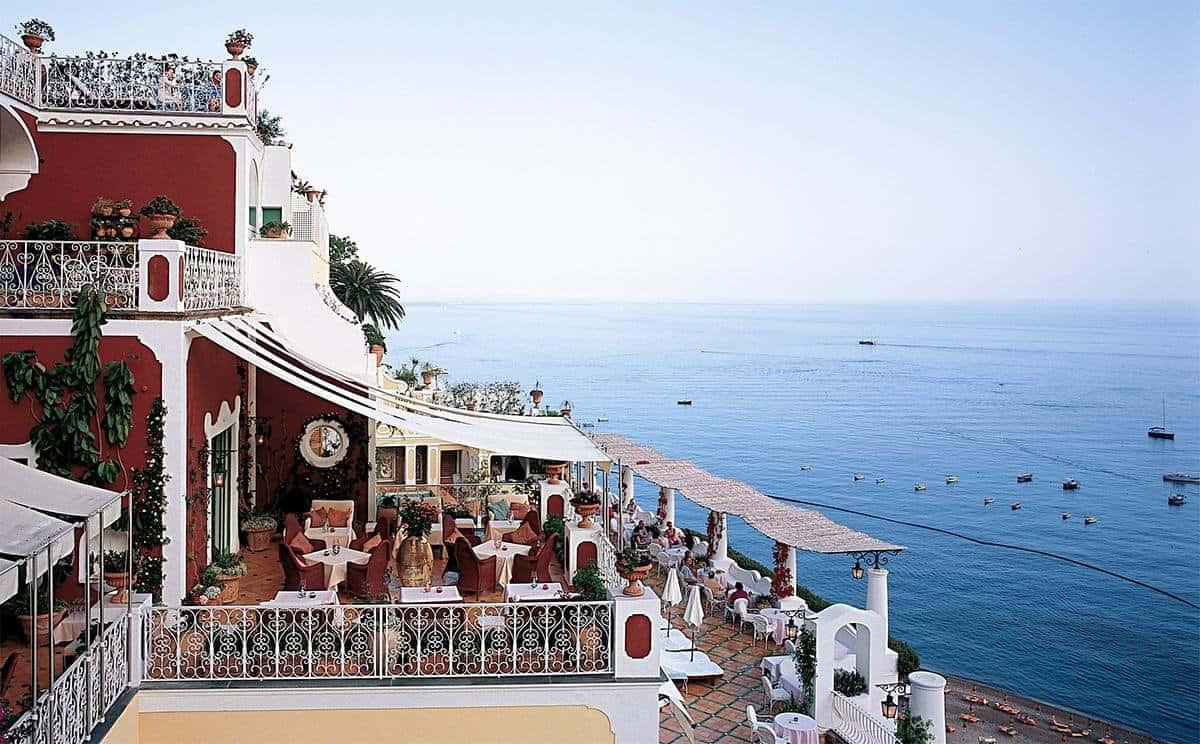 فندق لو سيرينوس Le Sirenuse في إيطاليا