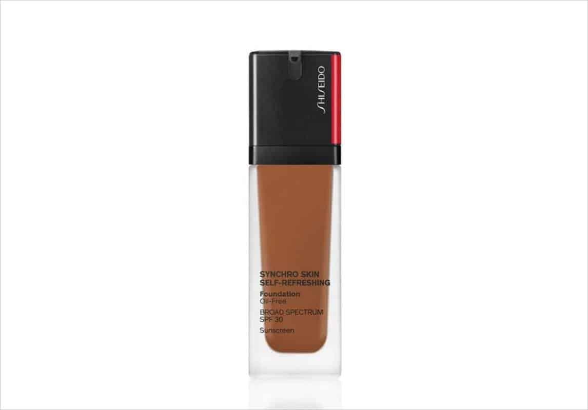 منتج كريم أساس Synchro Skin Self-Refreshing Foundation من ماركة شيسيدو Shiseido