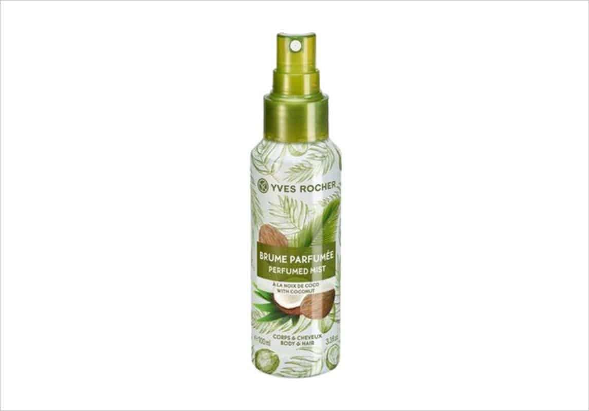 منتج Coconut Perfumed Body and Hair Mist من ماركة Yves Rocher