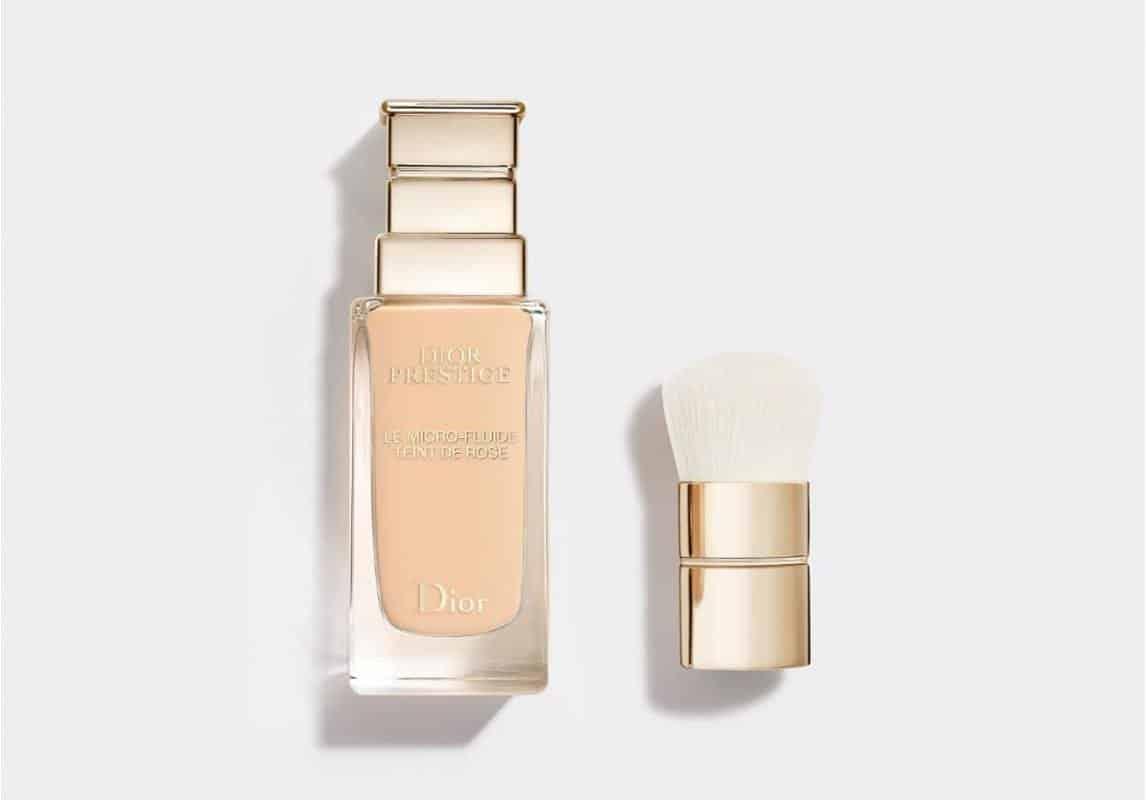منتج كريم أساس Prestige Le Micro-Fluide Teint de Rose من ماركة ديور Dior