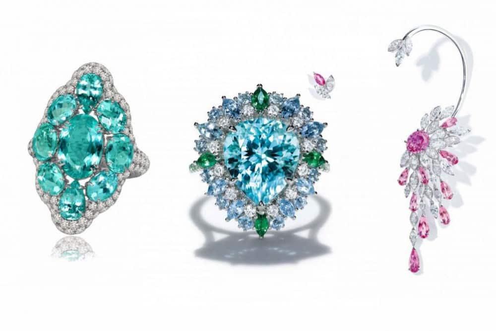 أجمل مجوهرات بأحجار التروماليون لإطلالة متميزة