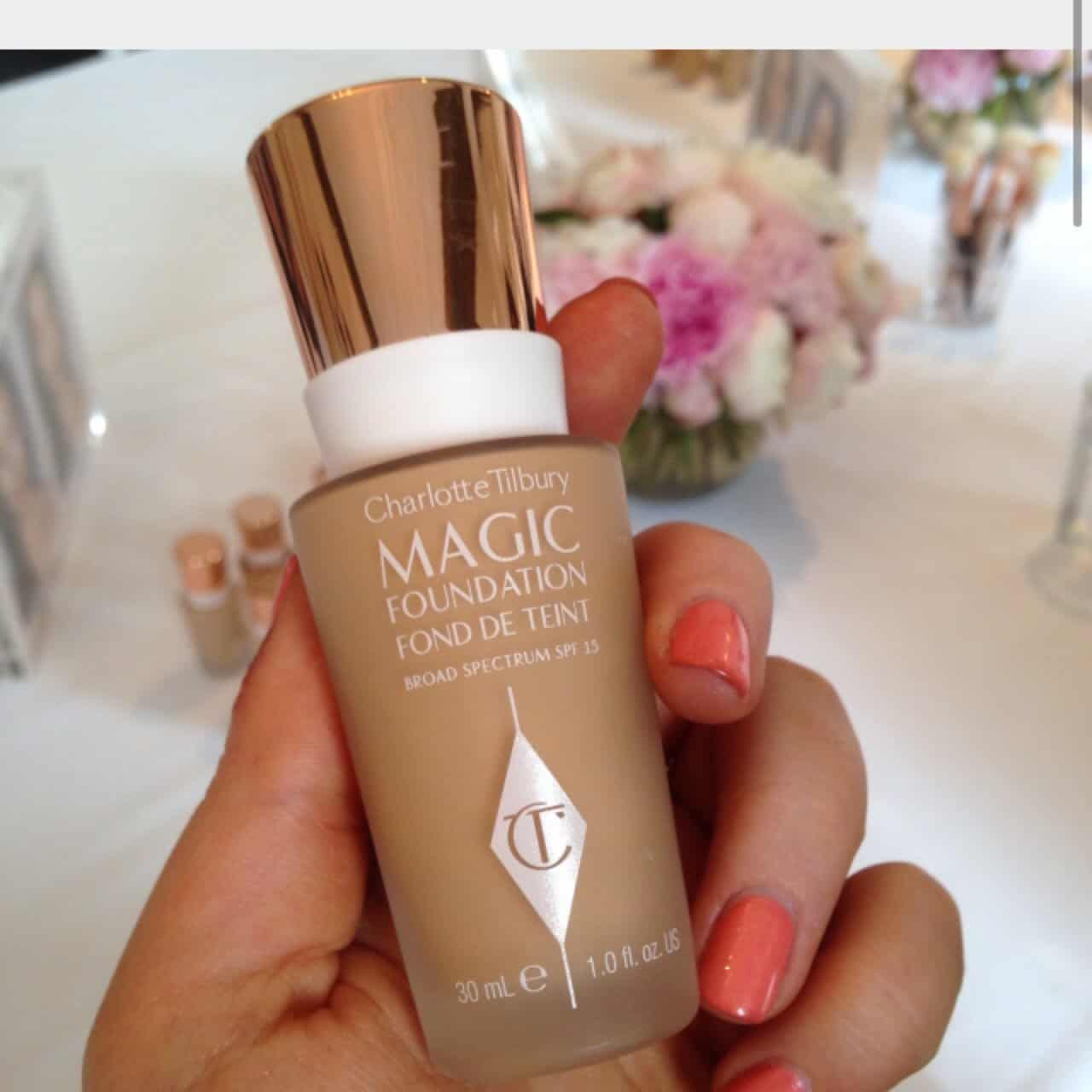 CHARLOTTE TILBURY Magic Foundation Flawless Long-Lasting Coverage SPF15 – Shade.