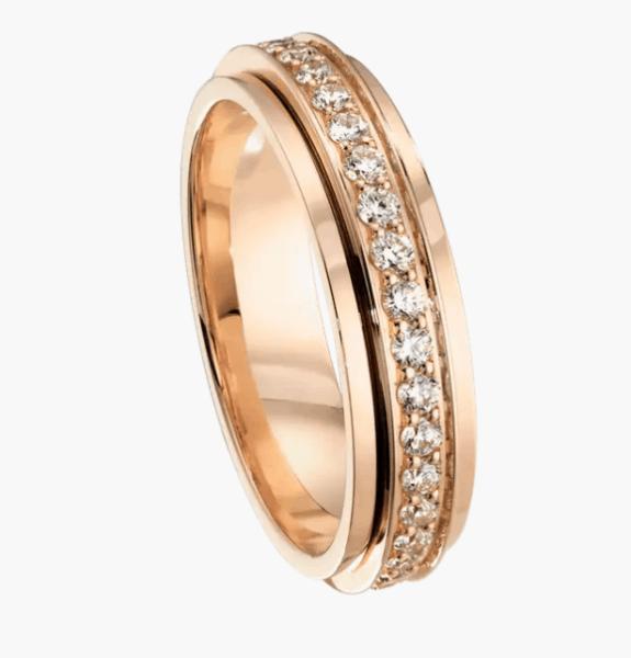 موديل خاتم زواج من ماركة بياجيه Piaget