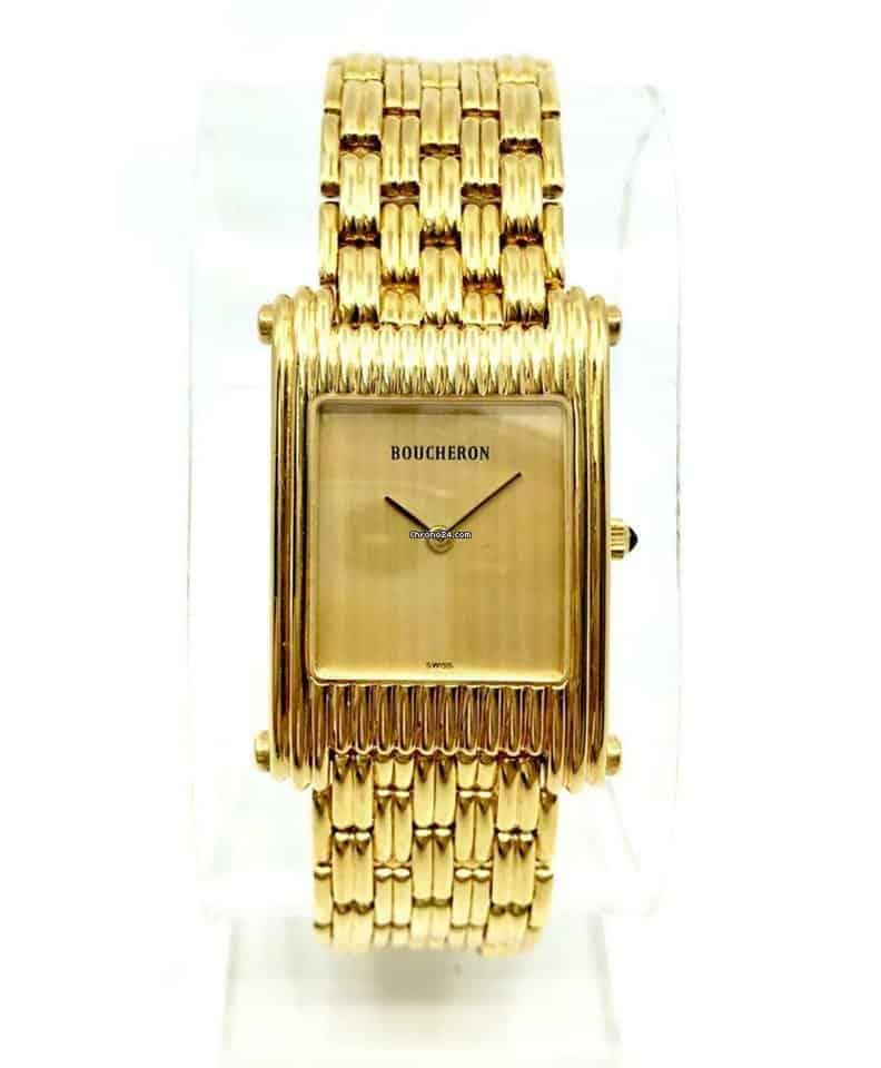 ساعة يد من ماركة بوشرون Boucheron