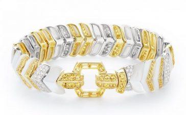 مجوهرات بمختلف ألوان الذهب