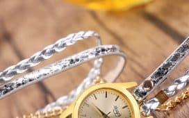 أفخم الساعات بالذهب الأصفر