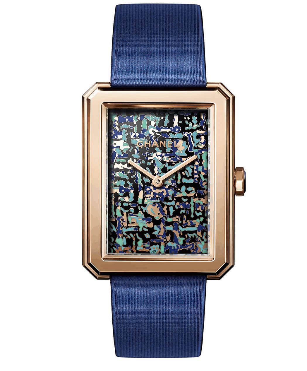 ساعة Boy Friend Tweed Art من ماركة شانيل Chanel