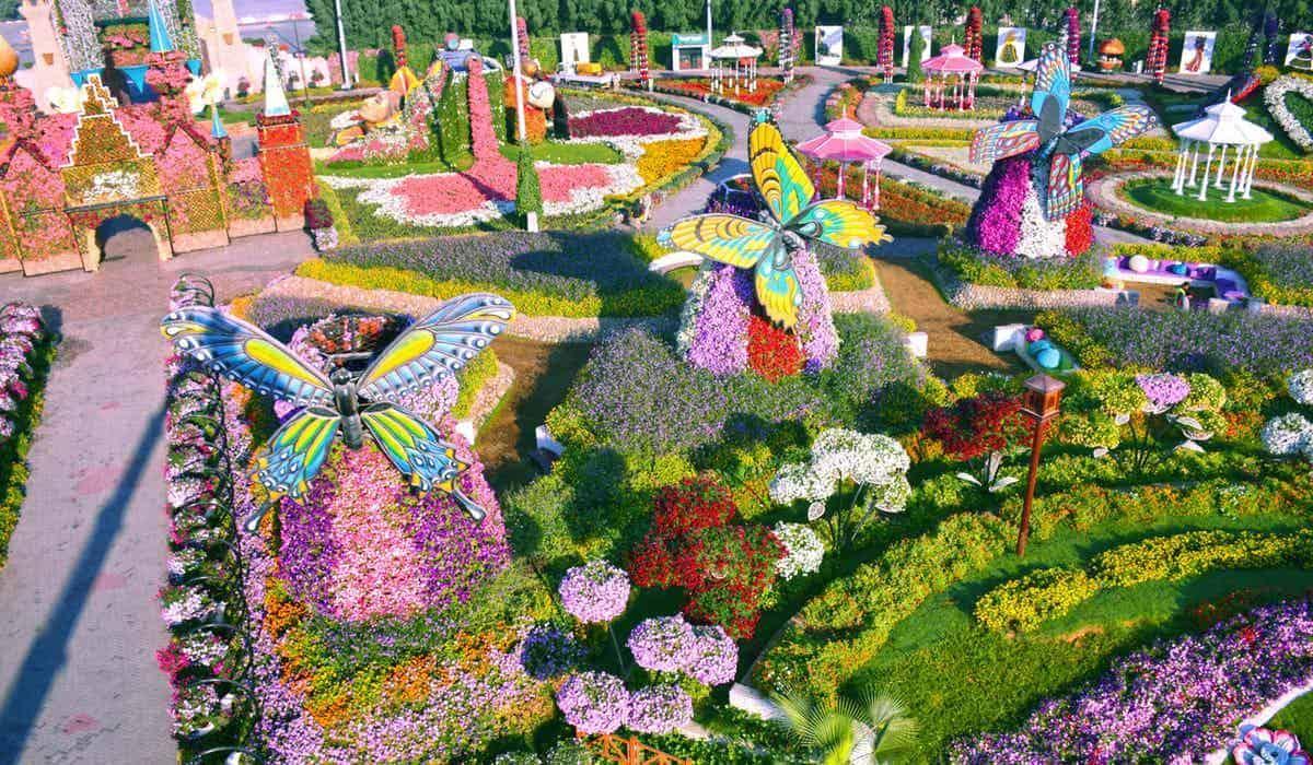 حديقة المعجزة بمدينة دبي